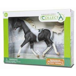 CollectA 89462 - Ogier półkrwi arabskiej srokaty pinto w pudełku