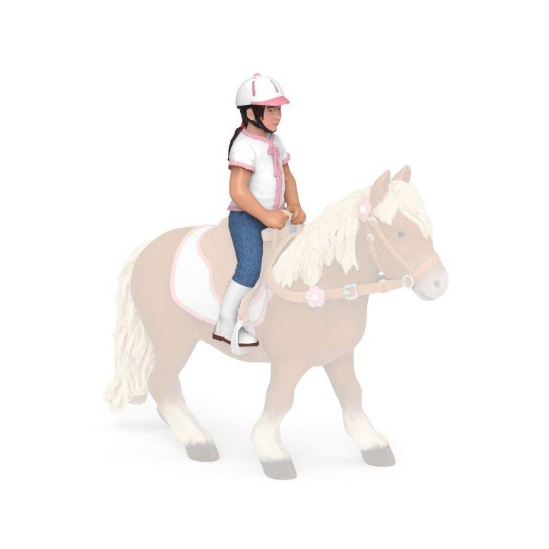 Papo 52014 - Jeździec dziecko dziewczynka
