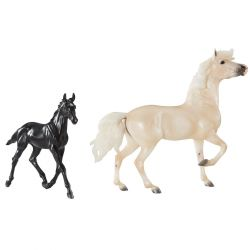 Breyer Traditional 1840 - Cloud's Encore i Tor Set