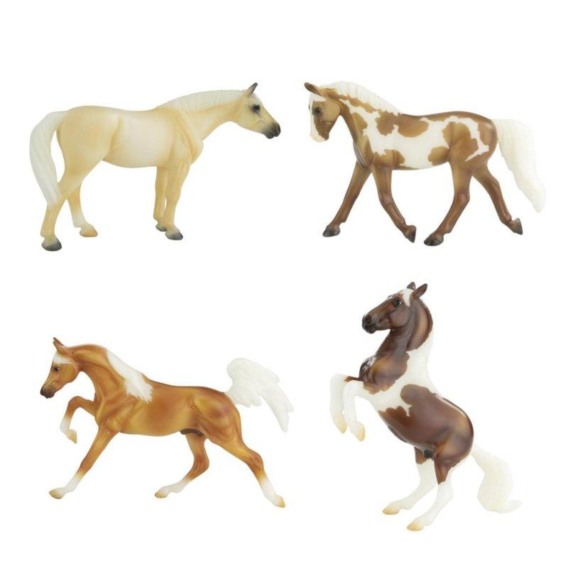 Breyer Stablemate 6226 - Konie srokate i izabelowate