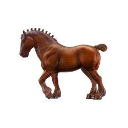 Breyer Stablemates 6051 - Koń Clydesdale dekor