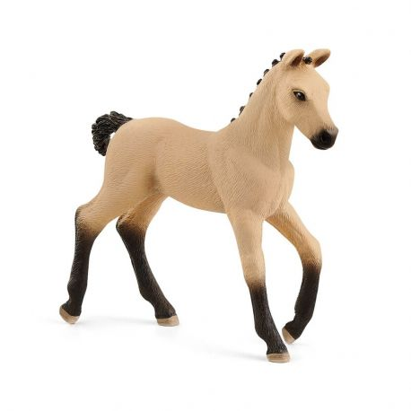 Schleich 13929 - Koń hanowerski źrebię bułane