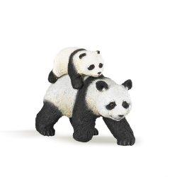 Papo 50071 - Panda idąca z młodym