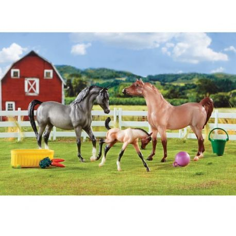 Breyer Classics 61087 - Rodzina koni arabskich zestaw