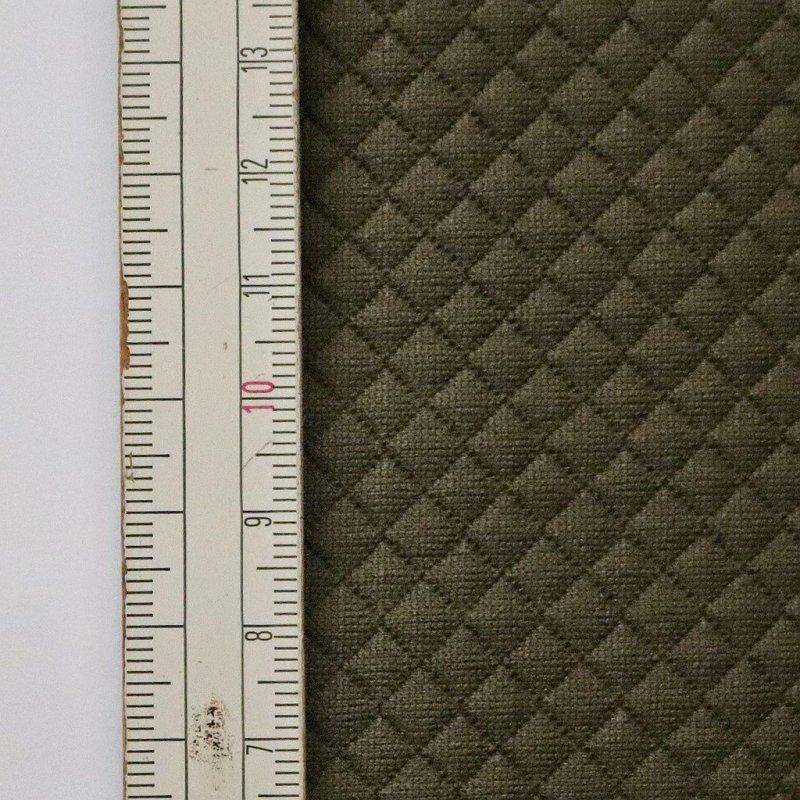 Materiał pikowany 5x5 Oliwkowy