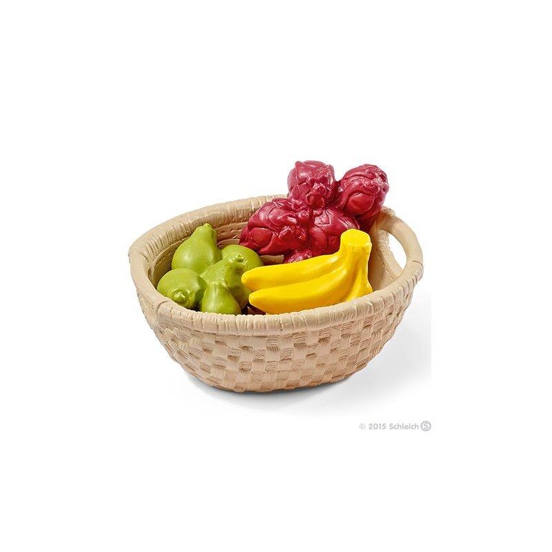 Schleich 42240 - Zestaw owoców w koszu