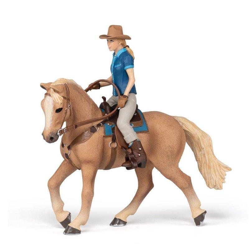 Papo 51566 - Koń z kowbojką