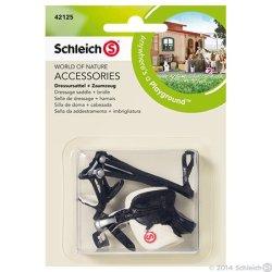 Schleich 42125 - Siodło ujeżdżeniowe i uzda