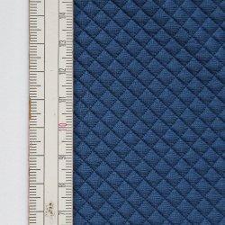 Materiał pikowany 5x5 Ciemny Niebieski