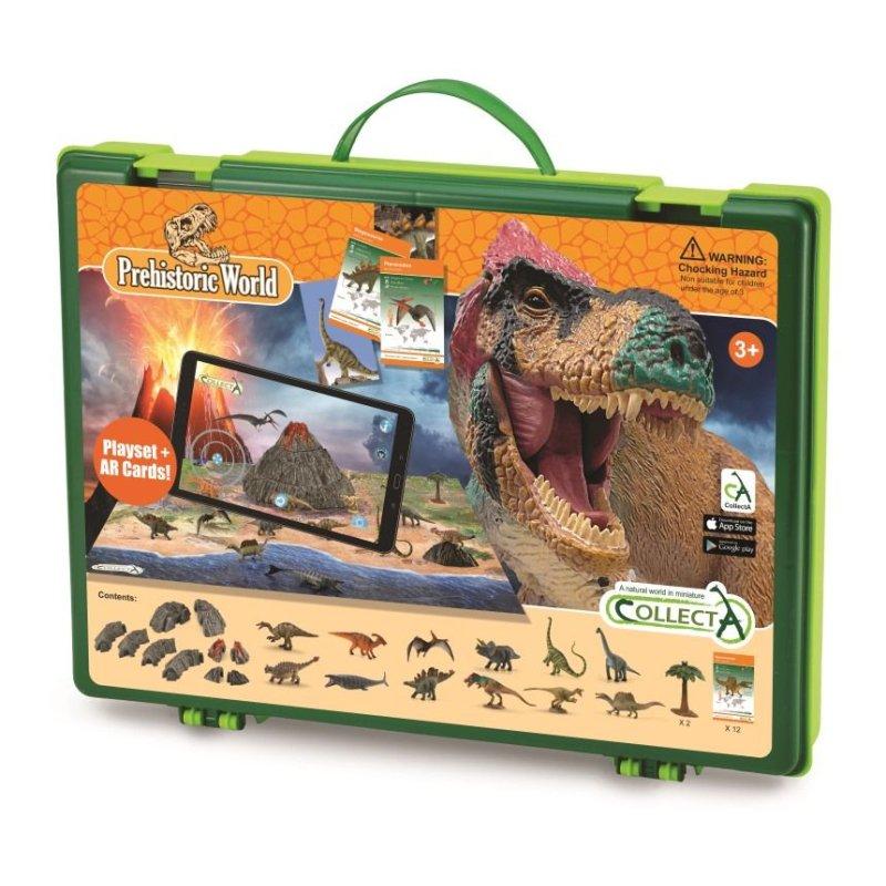 CollectA A1184 - Mini dinozaury rozszerzona rzeczywistość