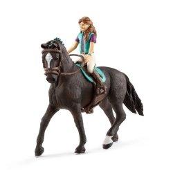 Schleich 42516 - Jeździec Lisa i koń Storm wersja 2