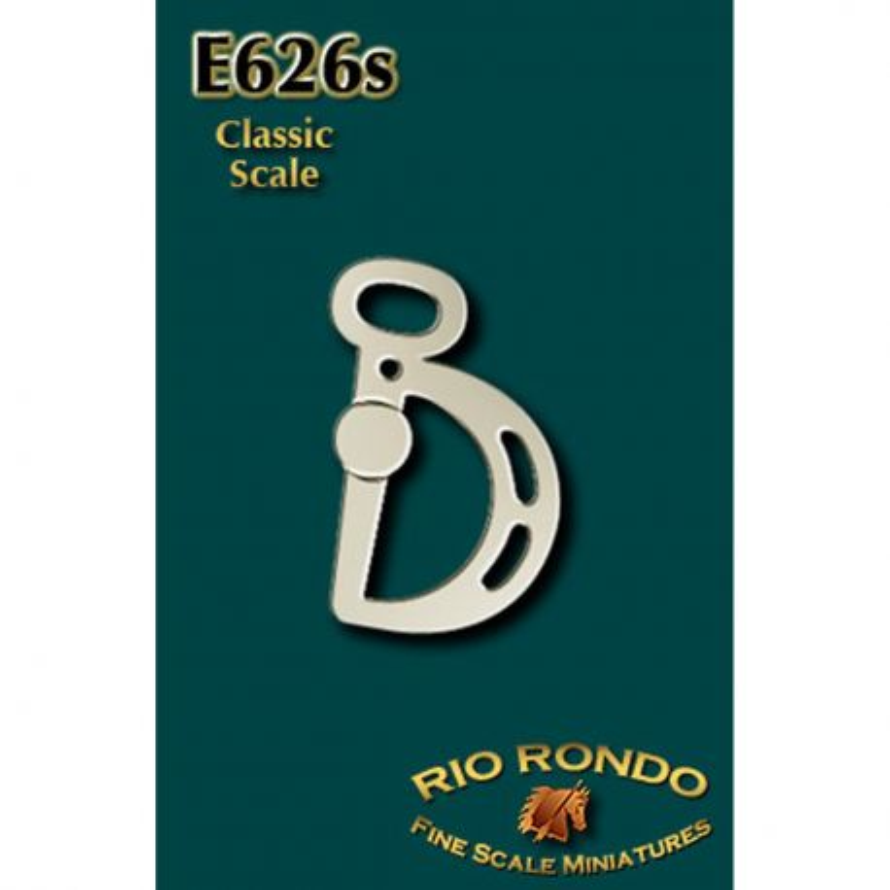 Rio Rondo skala CL - Wędzidło Kimberwicke E626s srebrne komplet