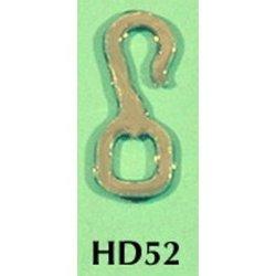 Rio Rondo skala LB - HD52g zestaw 12x haczyki złote