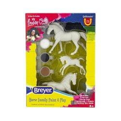 Breyer 4239 - Rodzina koni do malowania