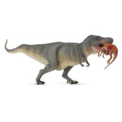 CollectA 88573 - Dinozaur Tyranozaur Rex z ofiarą