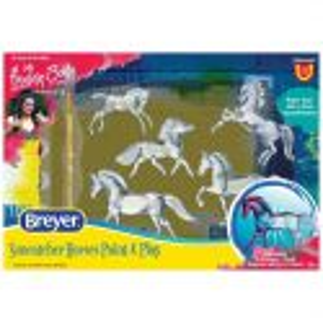 Breyer Stablemates 4237 - Konie do malowania Suncatcher 5 sztuk