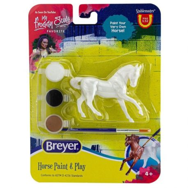 Breyer Stablemates 4275 - Koń ciepłokrwisty do malowania
