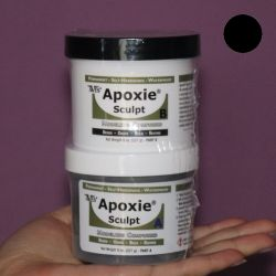 Apoxie Sculpt Czarny 450 g