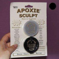 Apoxie Sculpt Czarny 113 g