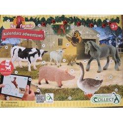 CollectA 84178 - Kalendarz adwentowy konie farma