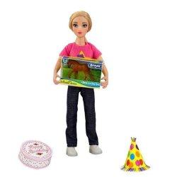 Breyer Classics 62301 - Lalka i mini konik z zestawu urodziny